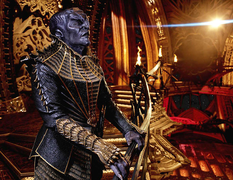 Chris Obi as T'Kuvma on Star Trek: Discovery