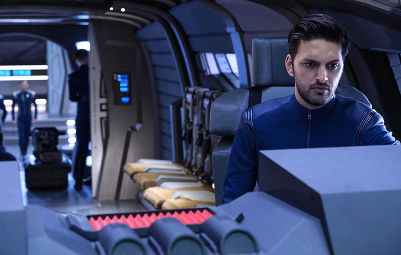 Shazad Latif as Lt. Tyler on Star Trek: Discovery