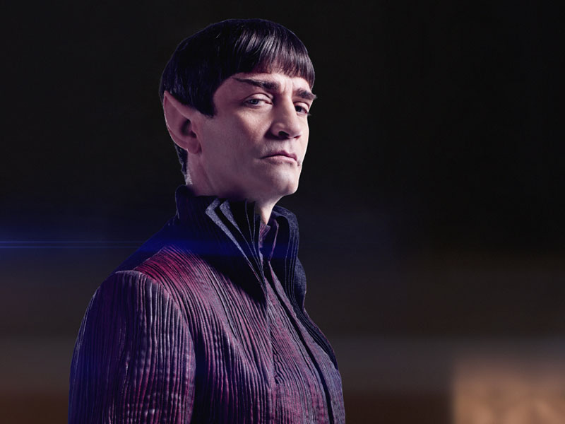 James Train as Sarek on Star Trek: Discovery