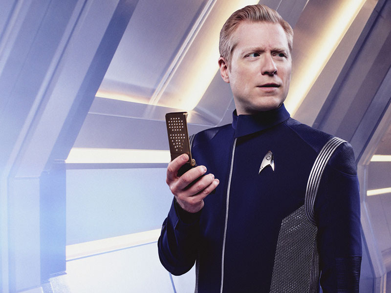 Anthony Rapp as Paul Stamets on Star Trek: Discovery
