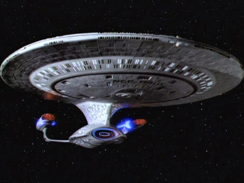 The U.S.S. Enterprise 1701-D