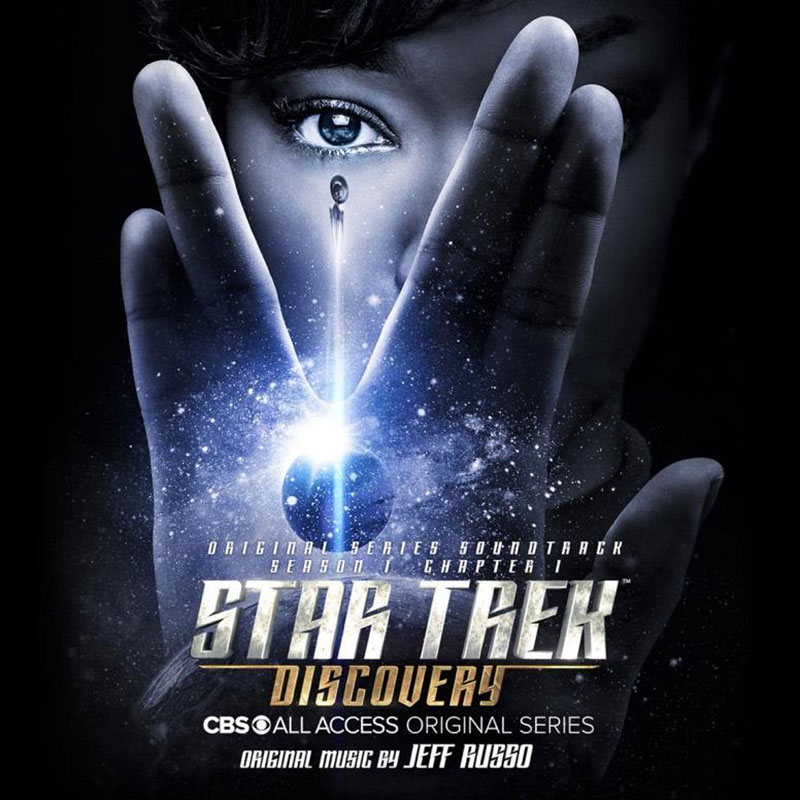 Star Trek: Discovery soundtrack cover art