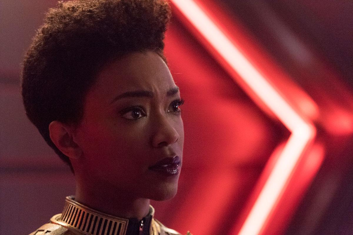 Sonequa Martin-Green as Michael Burnham