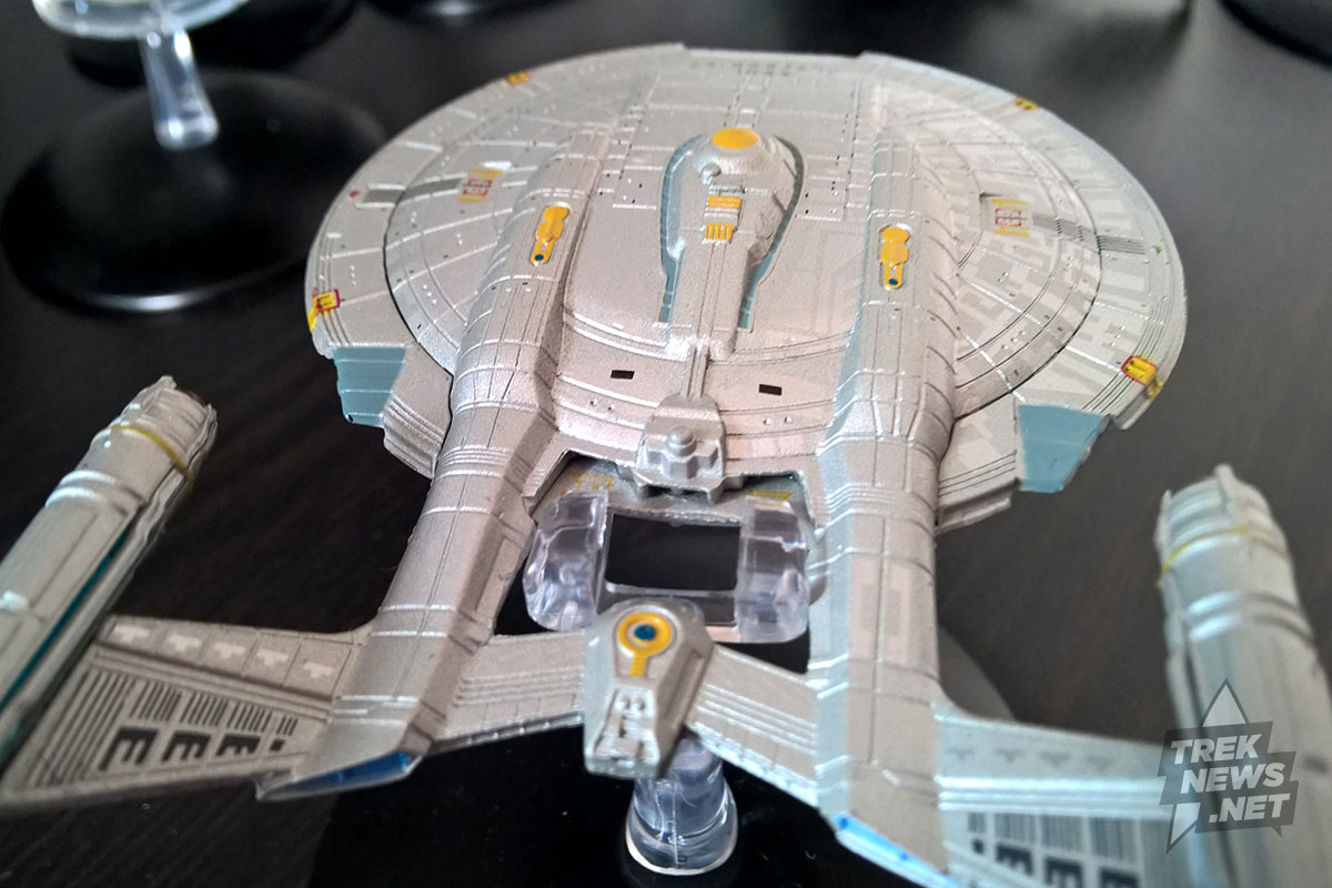 Aft view of Enterprise.