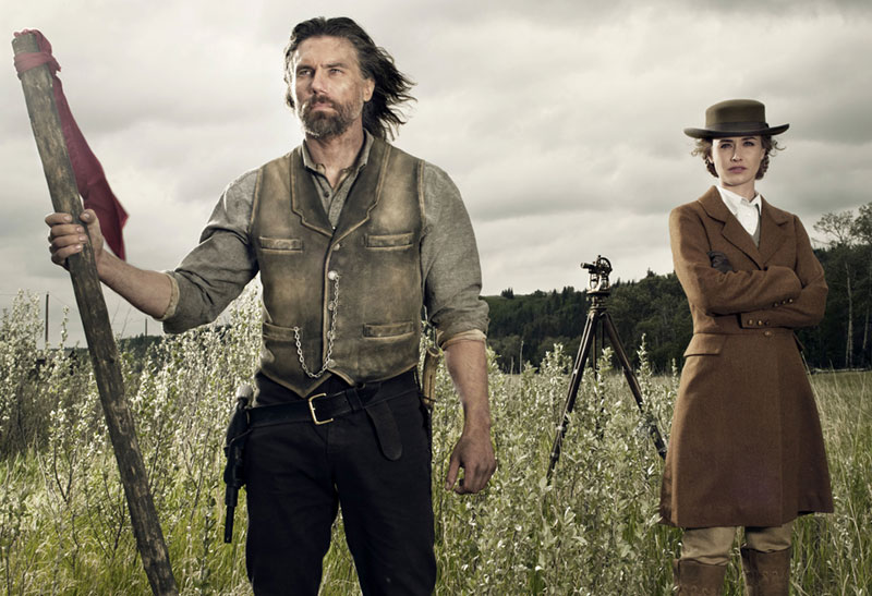 "Anson Mount as Cullen Bohannon on ""Hell on Wheels"""