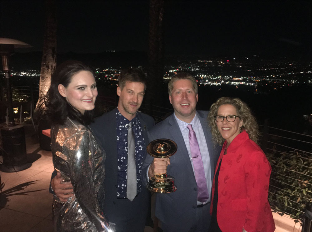 """Discovery"" cast members Mary Chieffo and Kenneth Mitchell, along with Producer Aaron Baiers, Executive Producer Heather Kadin"