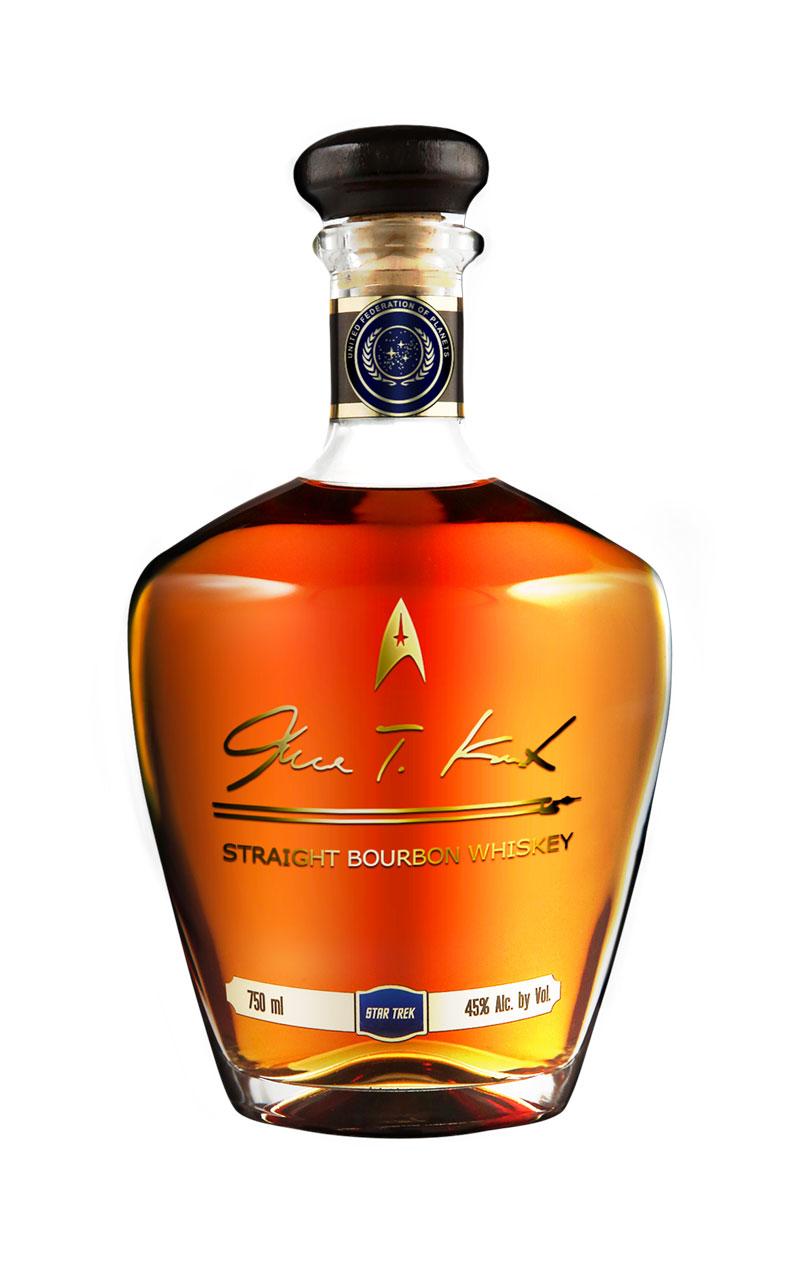 James T. Kirk Bourbon Whiskey