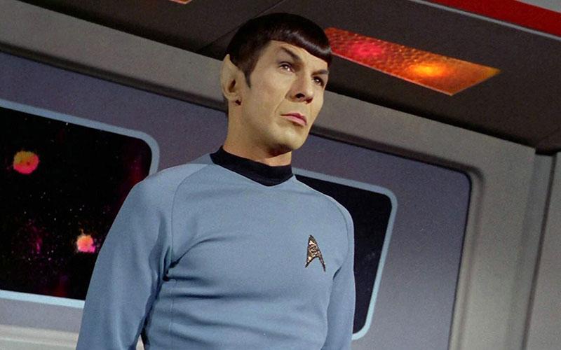 Leonard Nimoy as Spock on Star Trek: The Original Series
