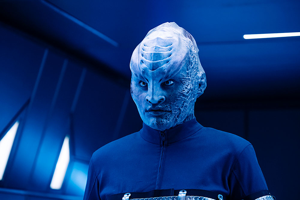 L'Rell in the first season of Star Trek: Discovery