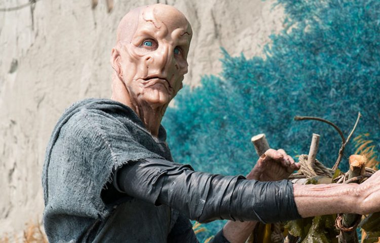 """WATCH: Doug Jones Plays A Young Saru In The """"Short Treks"""" Trailer For """"The Brightest Star"""""""