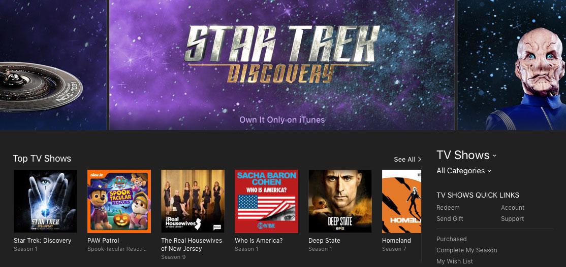 Star Trek: Discovery Season 1 on iTunes