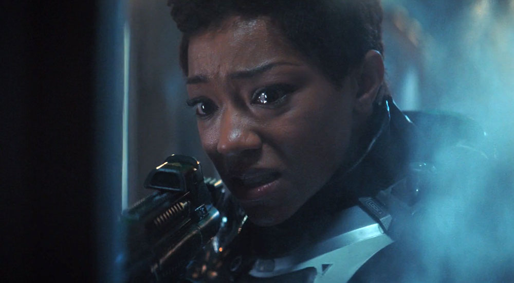 Sonequa Martin-Green as Michael Burnham