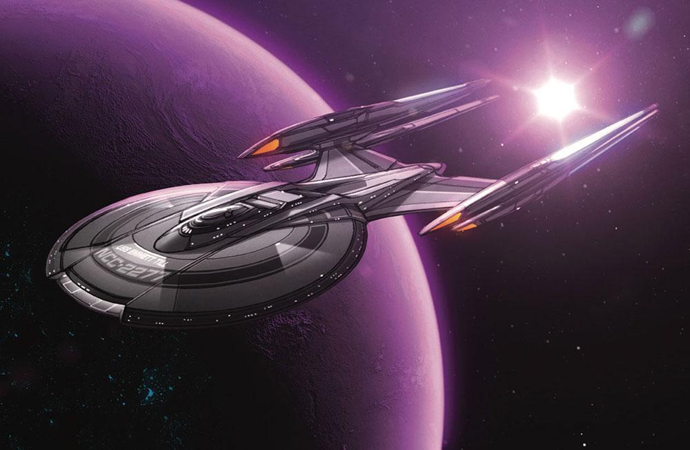 USS Emmett Till by John Eaves