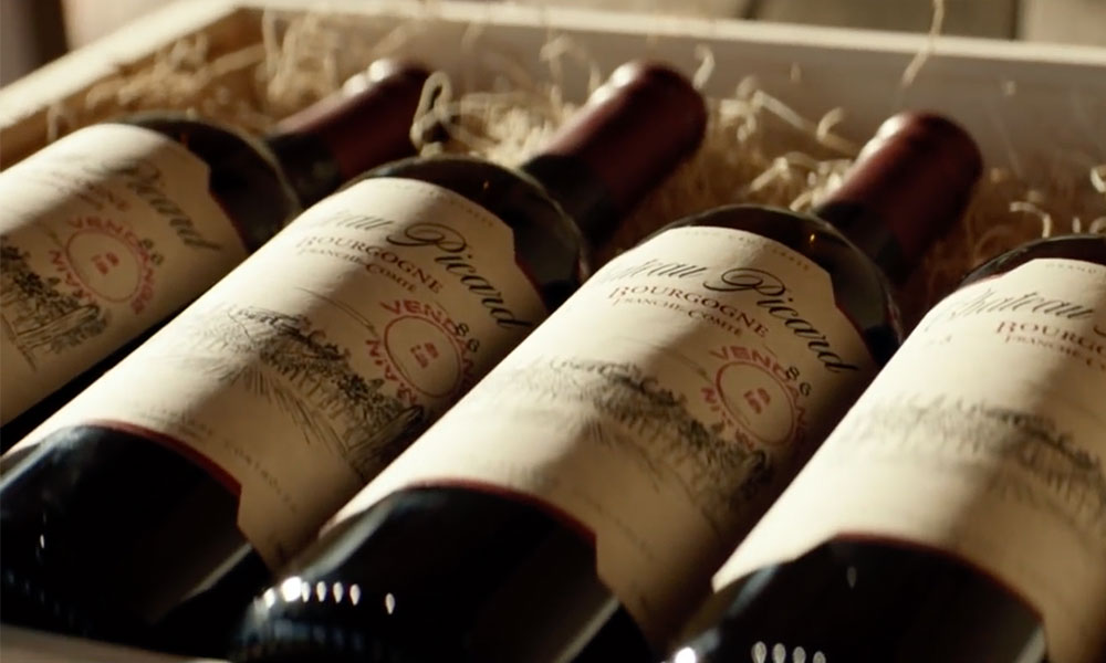 Château Picard bottles shown in the Star Trek: Picard teaser trailer