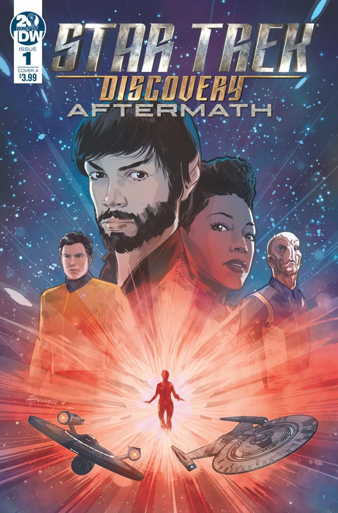 Star Trek: Discovery Aftermath #1 cover by Angel Hernandez