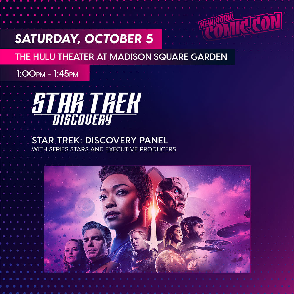 Star Trek: Discovery at NYCC 2019