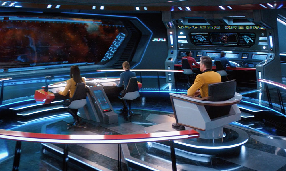 The bridge of the Enterprise