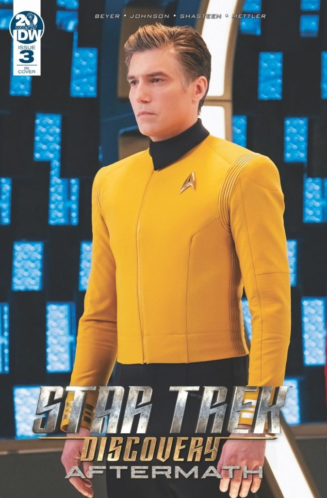 Star Trek: Discovery Aftermath #3 Photo Variant Cover