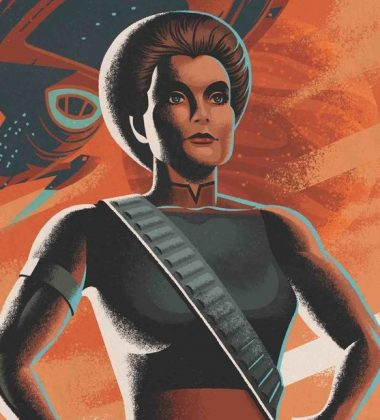 """[REVIEW] Janeway is the Mirror Universe's Pirate Queen in STAR TREK: VOYAGER """"Mirrors & Smoke"""""""