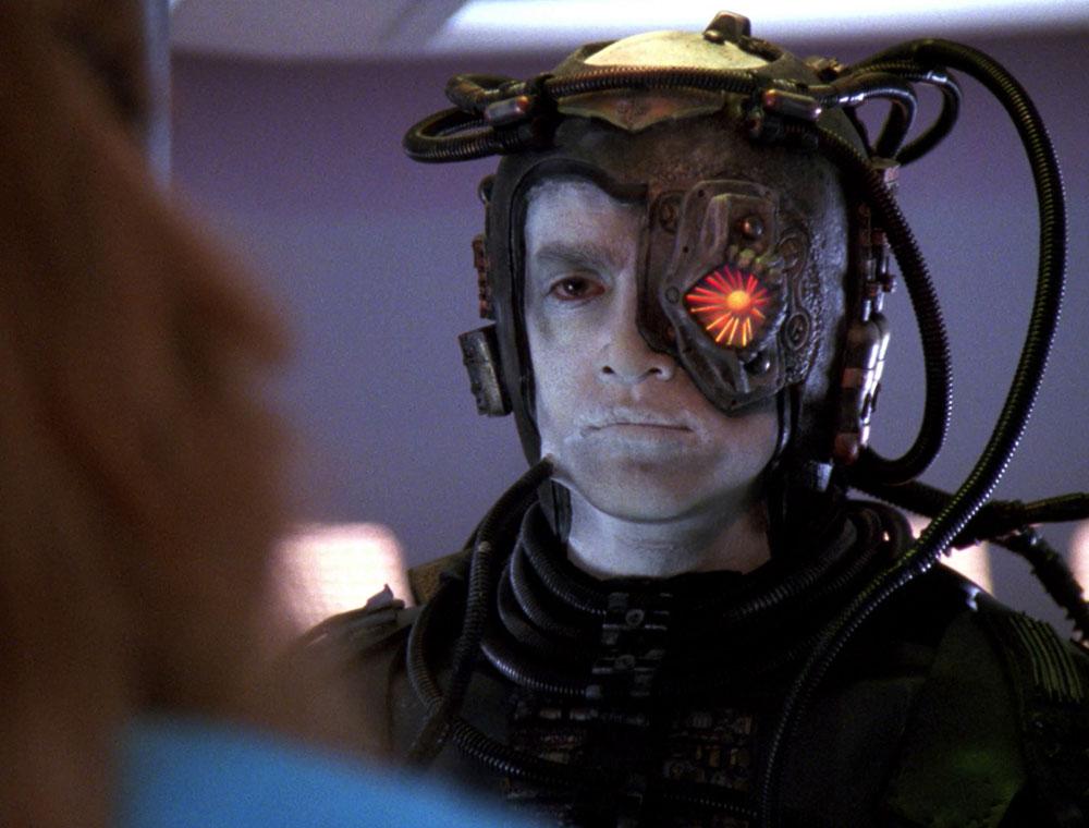 Hugh, as seen in Star Trek: The Next Generation