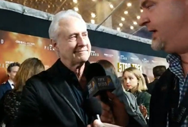Brent Spiner, who returns as Data on Star Trek: Picard