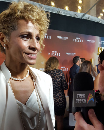 Michelle Hurd, who plays Raffi Musiker on Star Trek: Picard