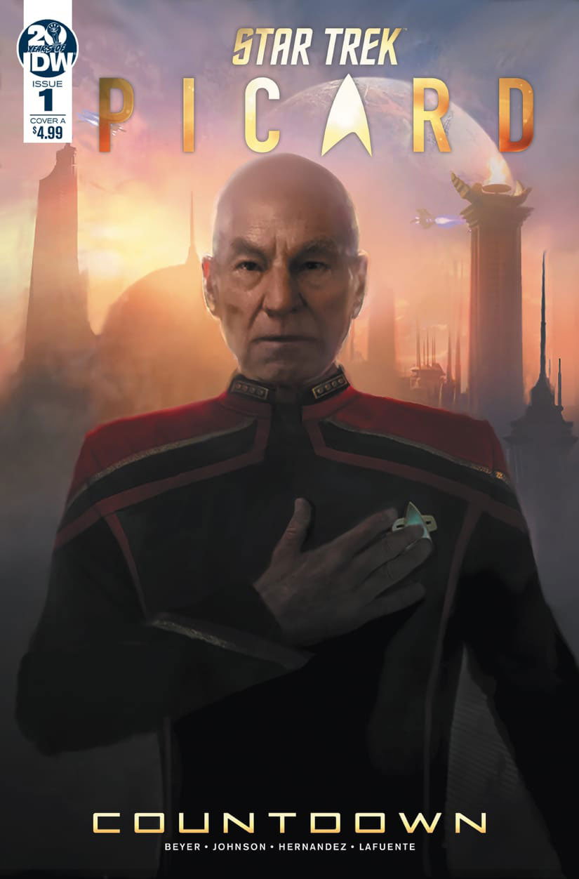 Star Trek: Picard - Countdown - Issue 1 cover art