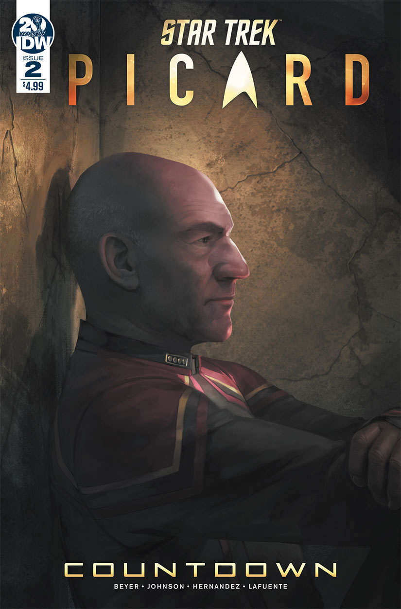 Star Trek: Picard - Countdown - Issue 2 cover art