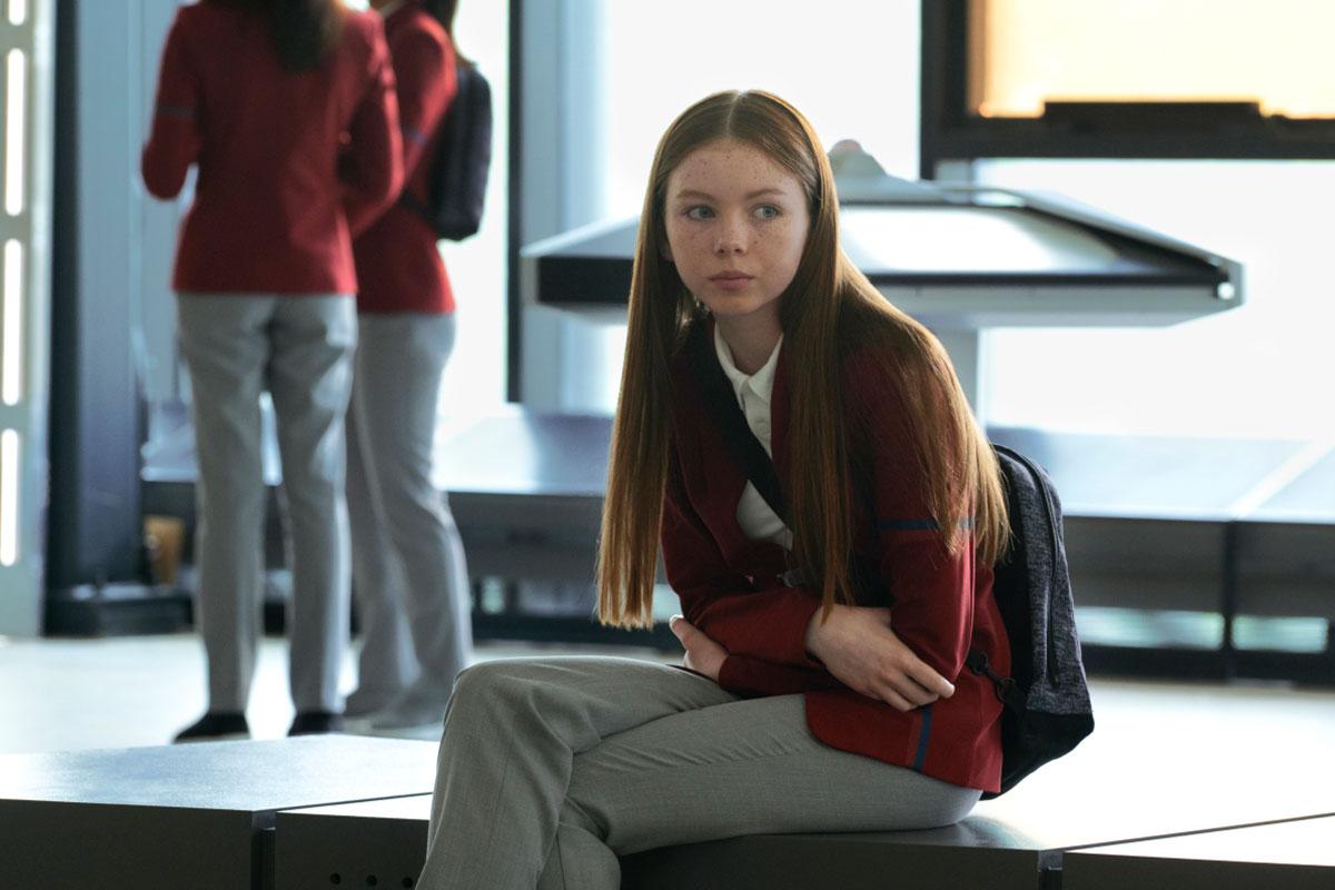 """Sadie Munrie as Lil in Star Trek: Short Treks """"Children of Mars"""""""