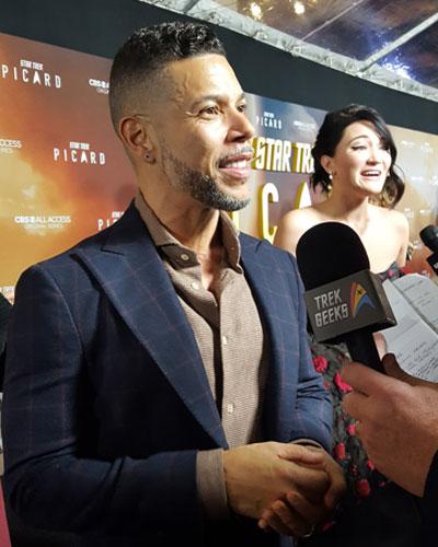 Star Trek: Discovery star Wilson Cruz